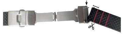 couper le bracelet